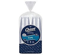 Chinet Cut Crystal Clear Cup - 36 CT