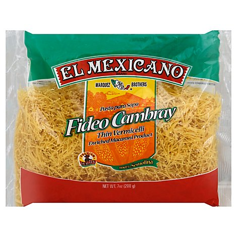 El Mexicano Cambray Fideo - 7 OZ