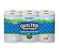 Quilted Northern Ultra Soft & Strong Toilet Paper 12 Double Rolls - 12 RL