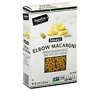 Signature Select Pasta Elbow Macaroni - 16 OZ
