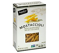 Signature Select Pasta Mostaccioli - 16 OZ