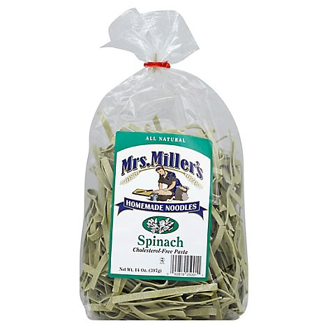 Mrs Millers Nooodles Spinach - 16 OZ