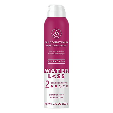 Waterless Weightless Smooth Dry Conditioner - 3.6 OZ