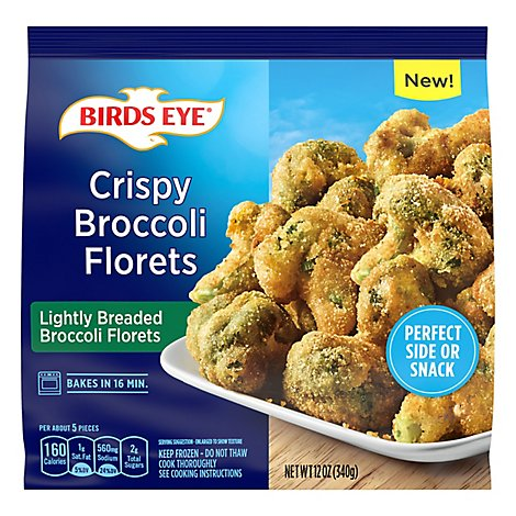 Birds Eye Crispy Lightly Breaded Frozen Broccoli - 12 OZ