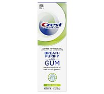 Crest Gum & Breath Toothpaste Purify Deep Clean - 4.1 Oz