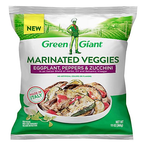 Green Giant Grilled Eggplant Peppers & Zucchini - 13 OZ