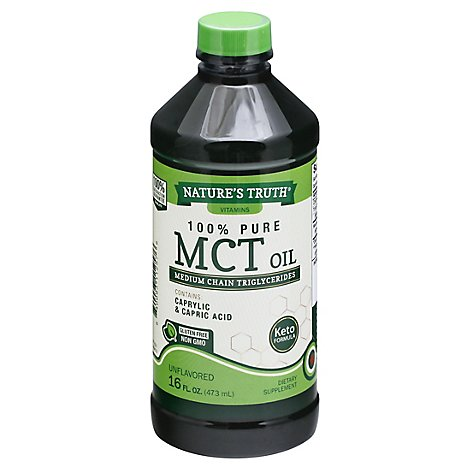 Natures Truth Mct Oil - 16 FZ