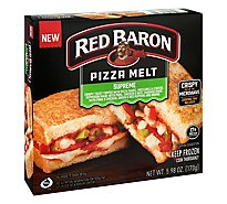 Red Baron Pizza Melt Pizza Supreme - 5.98 OZ