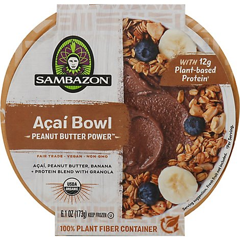 Sambazon Acai Bowl Pb Power - 6.1 OZ