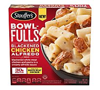 Stouffers Bowl Fulls Blackened Chicken Alfredo Meal - 14 OZ