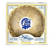 Village Piemaker Peach Pie - 3 LB