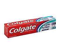 Colgate Triple Action Toothpaste Mint - 4 OZ