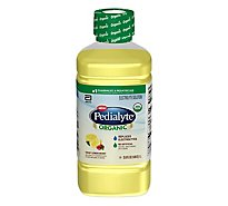 Pedialyte Organic Crisp Lemon Berry 1 Liter Bottle - 33.8 FZ