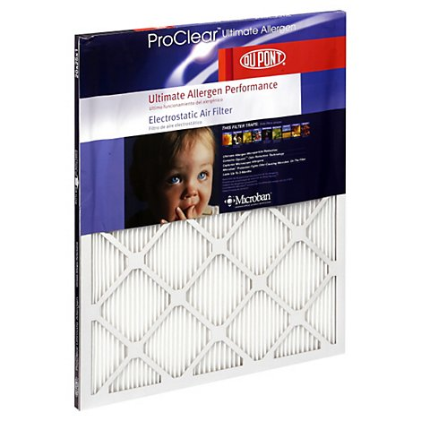 Dupont Ultimate Allergen Pro Clear 20x25x1 - EA