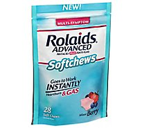 Rolaids Advanced Soft Chews Mixed Berry - 28 CT