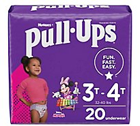 Ull-ups Learning Designs Jumbo Pack Training Pants 3t-4t Girl 20 - 20 CT
