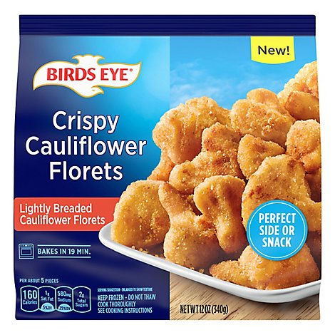 Birds Eye Crispy Breaded Cauliflower Florets - 12 OZ