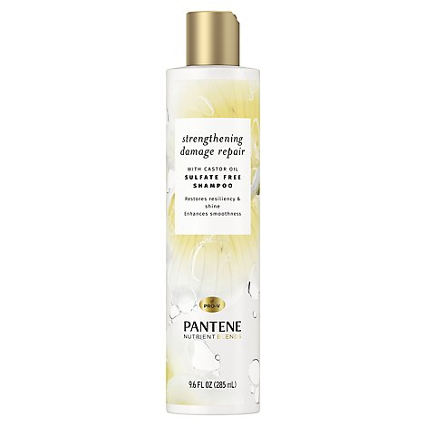 Pantene Shampoo With Castor Oil - 9.6 FZ