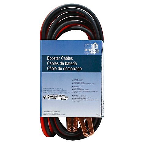 Booster Cables 10 Ga 12 Band - EA