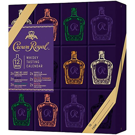 Crown Royal Whiskey Tasting Calendar - 12-50 ML