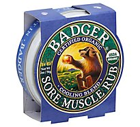 Badger Cooling Blend Sore Muscle Rub - 2 OZ
