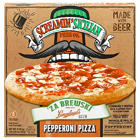 Screamin Za Brewski Pepperoni - 21.95 OZ