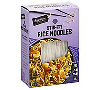 Signature Select Rice Noodles Stir Fry - 14 OZ