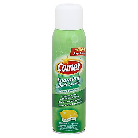 Comet Bath Foaming Spray - 19 FZ