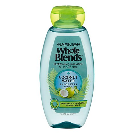 Garnier Whole Blends Shampoo Coconut Water & Aloe - 12.5 FZ