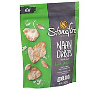 Stonefire Parmesan Garlic Naan Crisps - 6 OZ