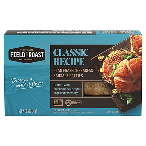Field Roast Bkfst Sausage Patty - 8.5 OZ
