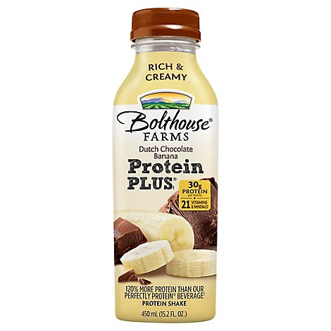 Bolthouse Dutch Choc Banana Protein Plus - 15.2 FZ