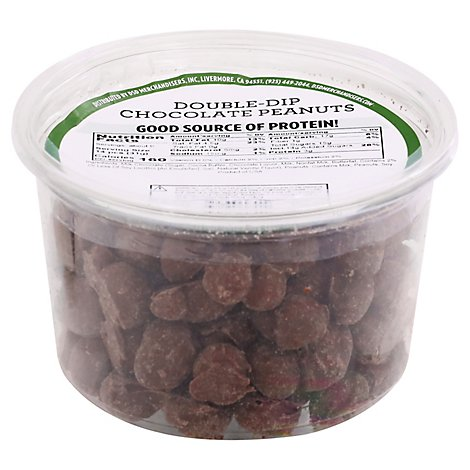 Chocolate Double-dipped Peanuts - 10 OZ