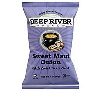 Deep River Chips Kettle Maui Onion - 2 OZ