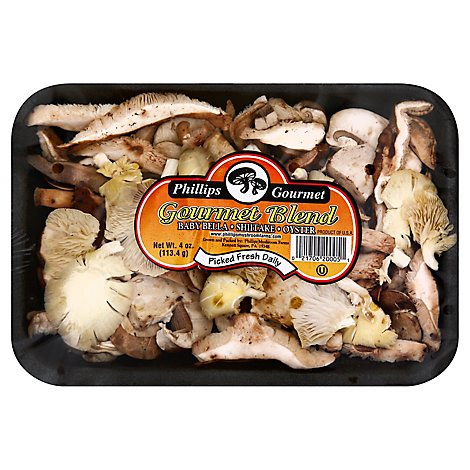 Mushrooms Gourmet Blend - 4 OZ