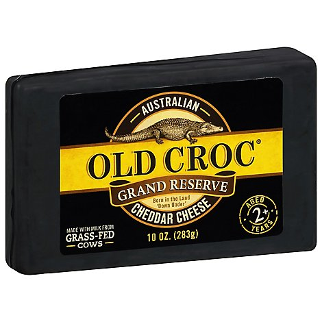 Old Croc Cheddar Chunk Grand Reserve - 10 OZ