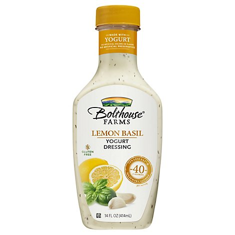 Dressing Lemon Basil Yogurt 14oz - 14 FZ