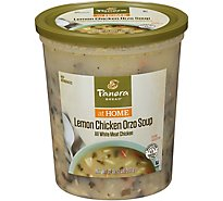 Panera Lemon Chicken And Orzo Soup - 32 OZ