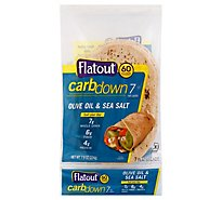 Flatout Sea Salt And Olive Oil Flatbread - 7.9 OZ