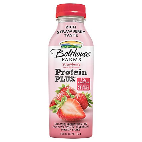 Bolthouse Protein Plus Strawberry - 15.2 FZ