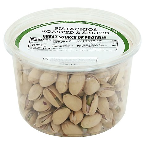 Pistachios Roasted Salted - 8 OZ