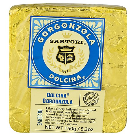 Sartori Dolcina Gorgonzola Wedge - 5.3 OZ