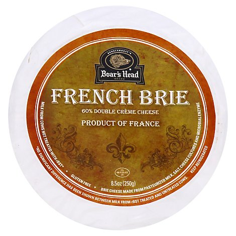 Boars Head French Brie Cheese Wheel - 8.5 OZ
