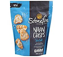 Stonefire Sea Salt Naan Crisps - 6 OZ