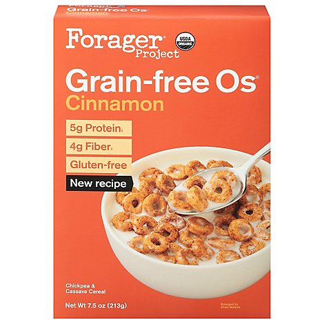 Forager Project Organic Cinnamon Cereal - 7.5 OZ