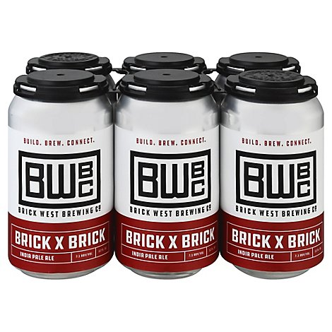 Brick West Brick By Brick Ipa Can - 6-12 FZ