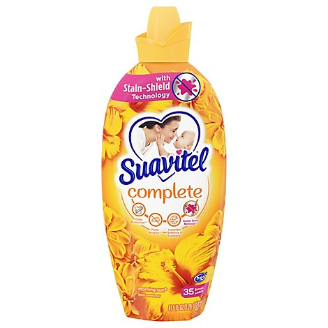 Suavitel Morning Sun Liquid Fabric Softener - 41.5 FZ