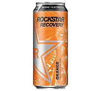 Rockstar Recovery Energy Drink Orange 16 Fluid Ounce Can - 16 FZ