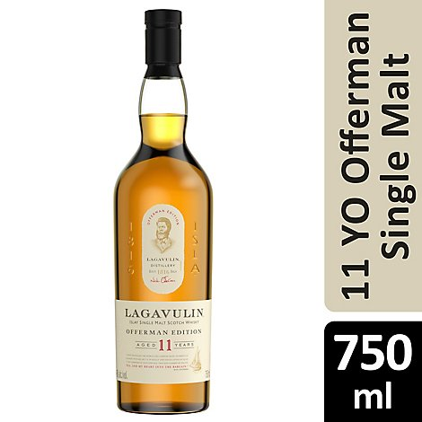 Lagavulin 11yr Offerman - 750 ML