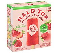 Halo Top Fruit Bar Strawberry - 6 CT